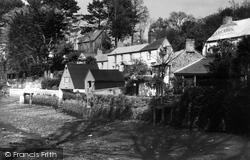 View From The Footbridge c.1950, Helford