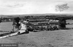 Hellifield, From Skipton Road 1950
