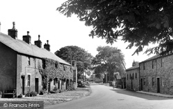 Hellifield, Gisburn Road 1950