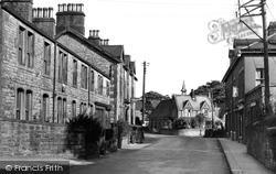 Hellifield, Main Street 1950