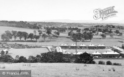 Hellifield, View From The Haw c.1950