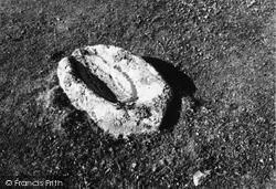 Hellisay, Dun, A Rubbing Quern 1959