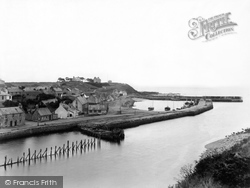Helmsdale, The Harbour 1939