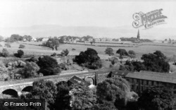 Higher Mill Viaduct c.1960, Helmshore
