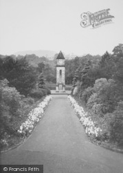 Memorial Gardens c.1960, Helmshore