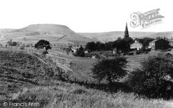 Musbury Tor And Church 1960, Helmshore