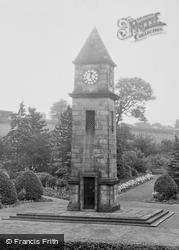 War Memorial Clock Tower 1960, Helmshore