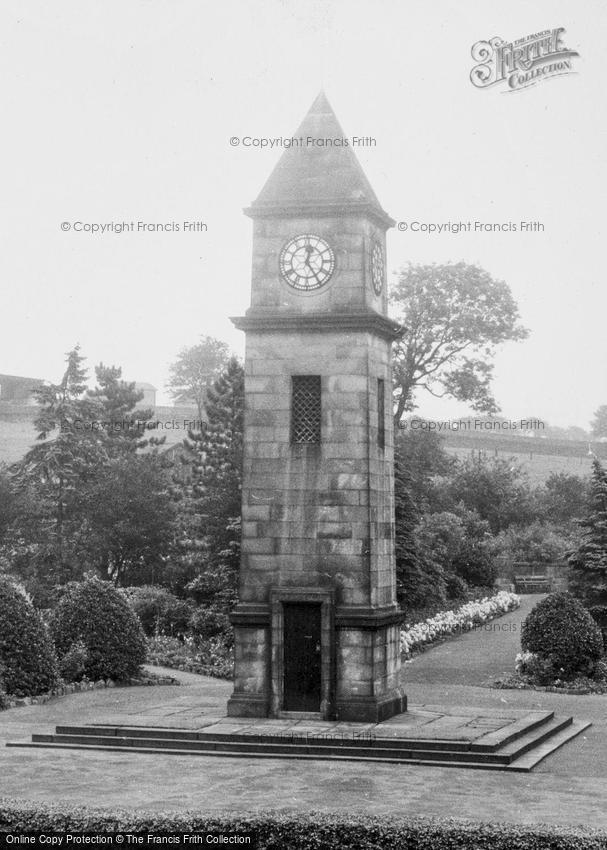 Helmshore, War Memorial Clock Tower 1960