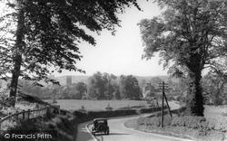 A Peep Through The Trees c.1950, Helmsley