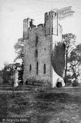 Castle c.1866, Helmsley