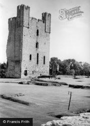 Helmsley, Castle c.1955