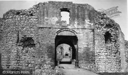 The Castle c.1955, Helmsley