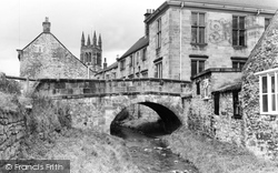 The Church And River c.1965, Helmsley