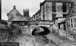 Helmsley, The Church And River c.1965