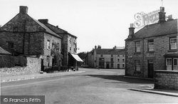 The Market Place From Church Street c.1955, Helmsley