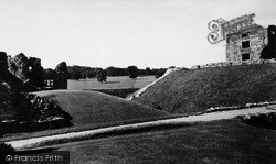 Helmsley, The Park From Castle Grounds c.1955
