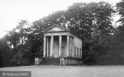 Helmsley, The Temple And Terrace c.1955