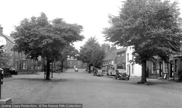 Helperby Main Street c1955 Francis Frith
