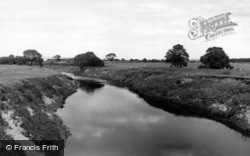 Helperby, The River c.1955
