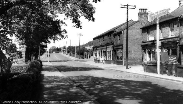 Photo of Helsby, Chester Road c1965