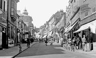 Hemel Hempstead, High Street 1957