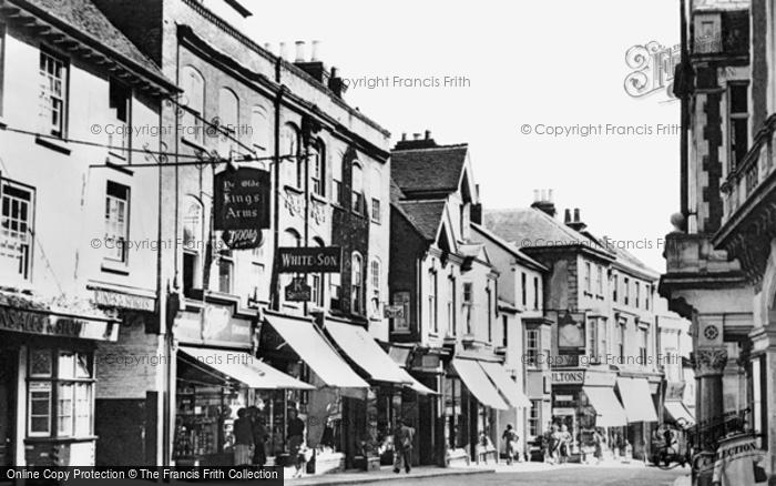 Hemel Hempstead, High Street c1960