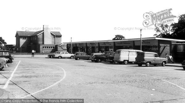 Hemel Hempstead, Shopping Parade, Warners End c1965