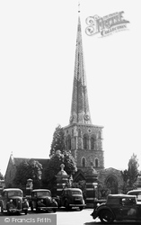 Hemel Hempstead, St Mary's Church c.1955