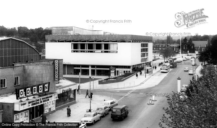 Hemel Hempstead, the Pavilion c1965