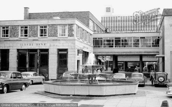 Hemel Hempstead, the Town Centre c1960