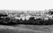 Hemel Hempstead, view from Adeyfield Road c1955