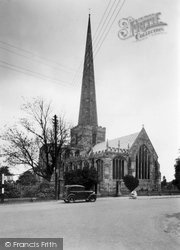 Hemingbrough, St Mary's Church c.1955