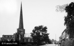 Hemingbrough, The Village Street And Church c.1955