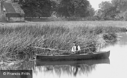 Fishing From A Boat 1899, Hemingford Abbots
