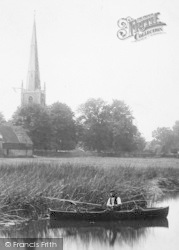 Fishing On The Great Ouse 1899, Hemingford Abbots