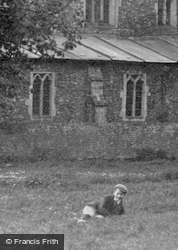 Lying On The Grass 1898, Hemingford Abbots