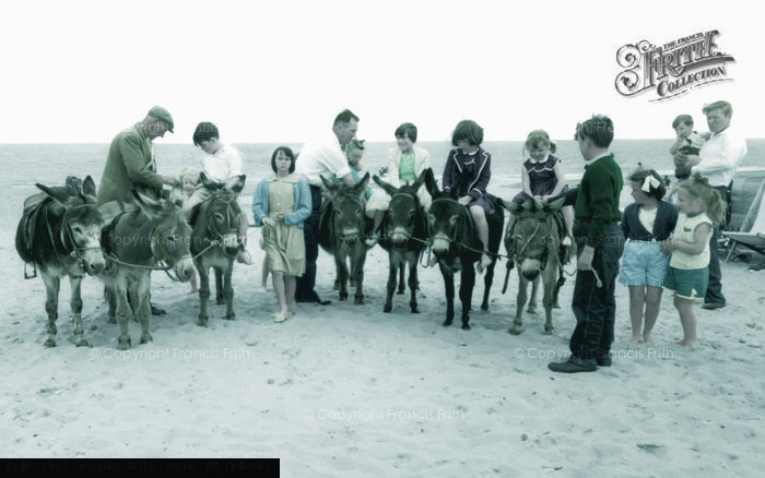 Photo of Hemsby, The Donkeys c.1955