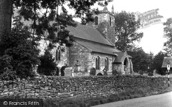 Hemswell, All Saints Church c.1955
