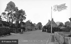 Church Street And Maypole c.1955, Hemswell