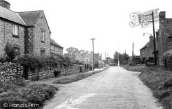 Hemswell, Maypole Street c.1955