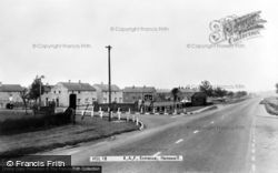 R.A.F. Entrance c.1960, Hemswell