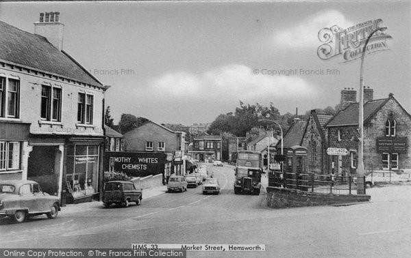 Hemsworth, Market Street c1965