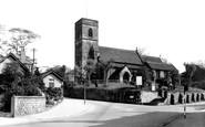 Hemsworth, The Parish Church c1955