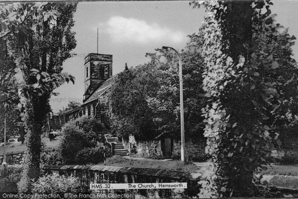Hemsworth, the Church c1965