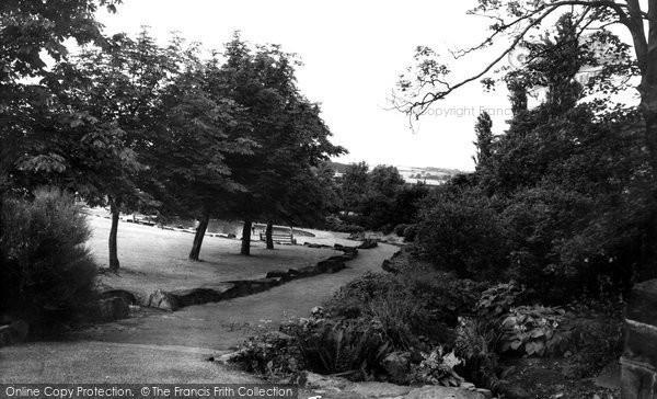 Hemsworth, Vale Head Park c1965