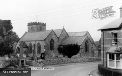 St Mary's Church c.1960, Hemyock