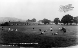 The Recreation Ground c.1960, Hemyock