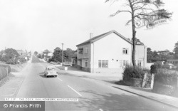 Henbury, The Cock Inn c.1965