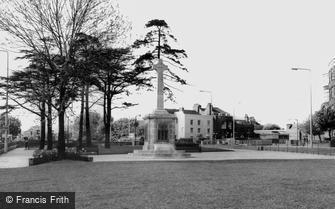 Hendon, the War Memorial c1965