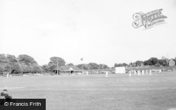 Henfield, Cricket Club c.1955